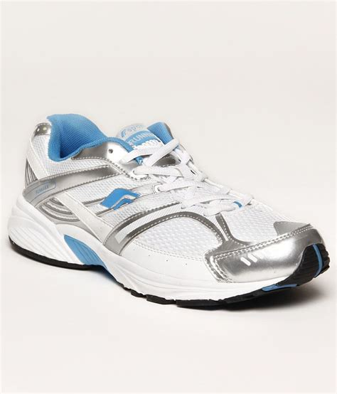 f sports durable white blue sports shoes price in india