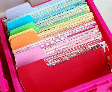 how to store craft paper 20 scrapbook paper storage ideas the scrap shoppe