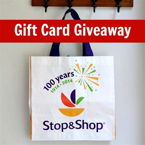 Stop Shop Gift Card - stop and shop anniversary events and giveaway