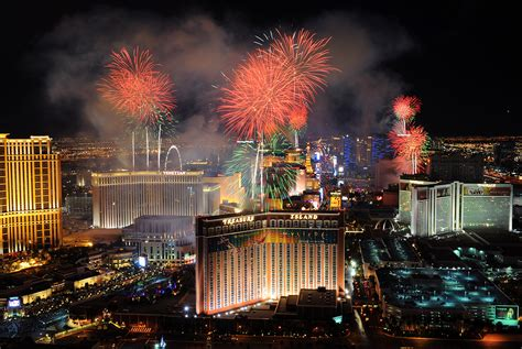 fireworks new year s celebrations 2015 las vegas