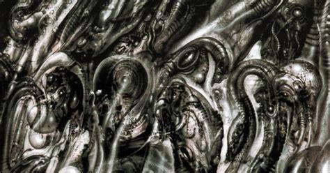 alien explorations hr gigers biomechanical landscape