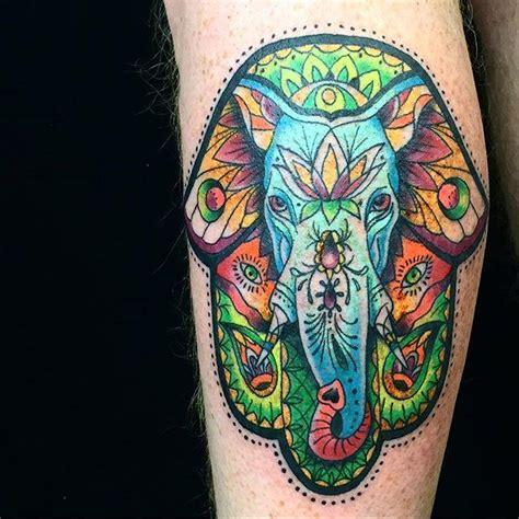 tattoo ganesha colorida 65 tatuagens de elefantes lindas e inspiradoras