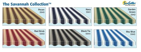 sunsetter awning colors fabric choices sunsetter awnings retractable the villages community ocala gainesville