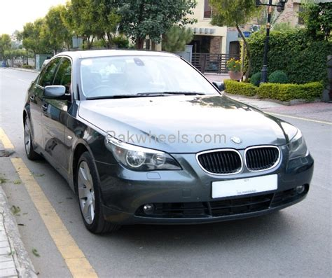 2004 bmw 5 series bmw 5 series 530d 2004 for sale in islamabad pakwheels