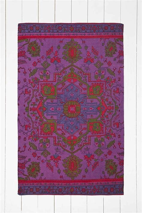 Tapis Outfitters by Tapis Surteint Violet 4x6 Outfitters Tapis