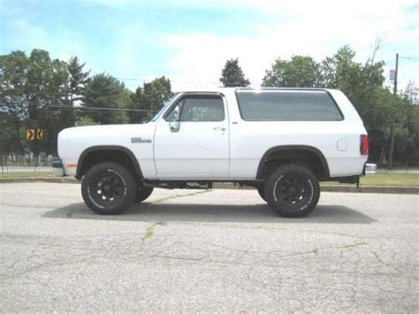 how to sell used cars 1992 dodge ramcharger parental controls 1992 dodge ramcharger for sale 12 used cars from 2 275