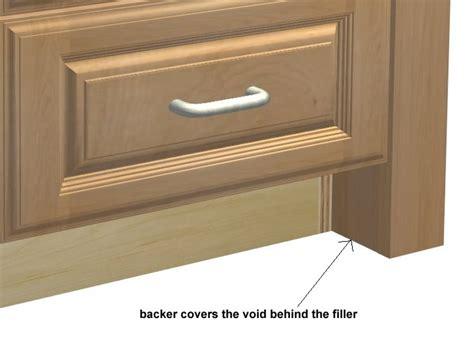 Cabinet Fillers by Base Cabinet Filler