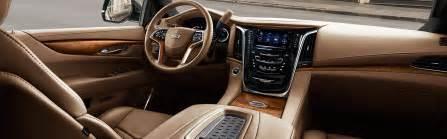 Cadillac Suv Interior 2017 Cadillac Escalade Interior Photos Cadillac Canada