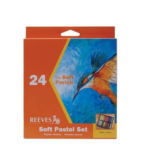 Reeves Soft Pastels 24 Pcs Berkualitas reeves soft pastel set 24 colors buy at best price in india snapdeal