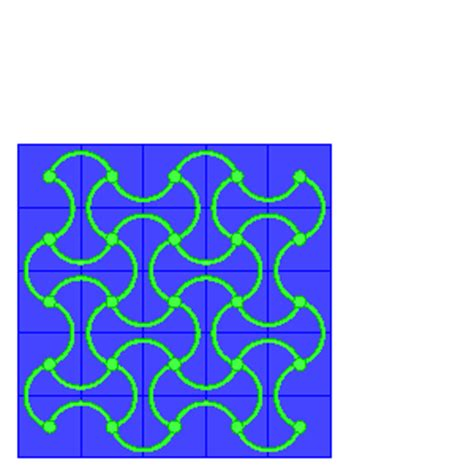 shape pattern exles bistable auxetic work in progress