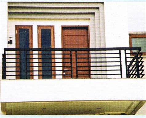 Railing Balkon Minimalis   Bengkel Las Canopy minimalis