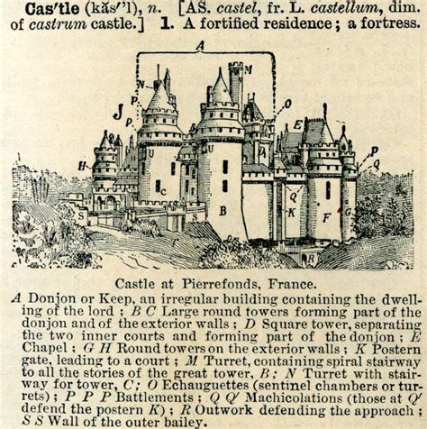 siege tower definition the parts of a castle