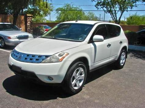comfortable suvs for long trips 2004 nissan murano suv for sale in phoenix az under 8000