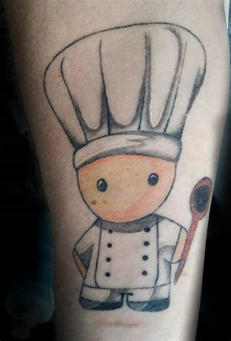 chef hat tattoo 56 wonderful spoon tattoos