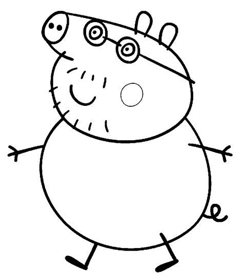 mama pig coloring page banco de imagenes y fotos gratis dibujos de peppa para