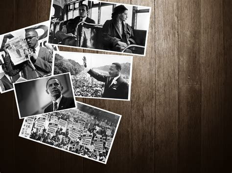 Civil Rights Leaders Black History Month 5 Graphics Black History Powerpoint Templates