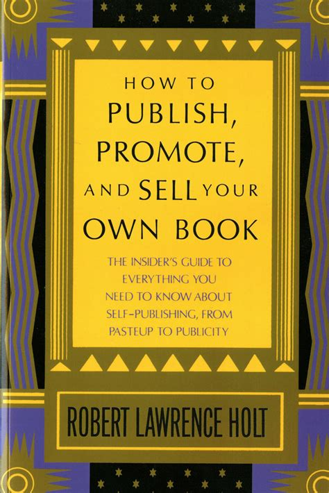 publish your own picture book how to publish promote sell your own book robert