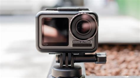 dji osmo action review djis twin display action cam   real gopro rival expert reviews