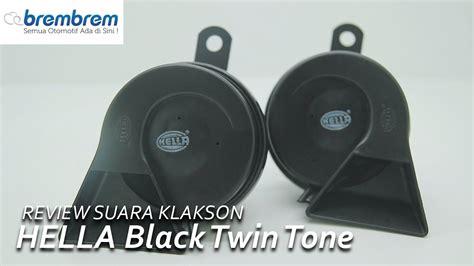 Klakson Hella Black Tone Keong Mobil review suara klakson hella black tone brembrem