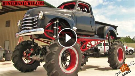 sickest mud truck  hp  big block powered  chevrolet stepside