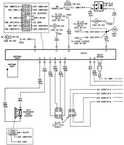 jeep stereo wiring diagram webtor me