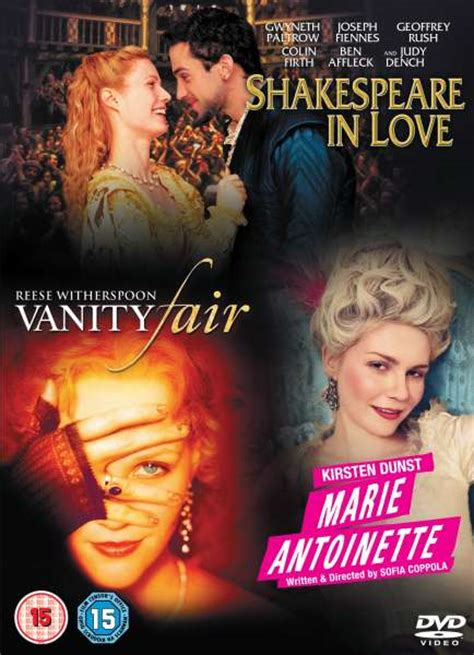 shakespeare in antoinette vanity fair dvd