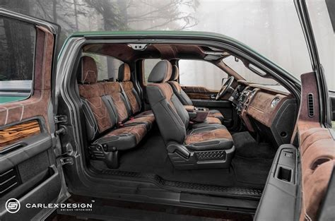 Leather Interior Kits For Trucks by Edition Ford F150 With Custom Leather And Wood