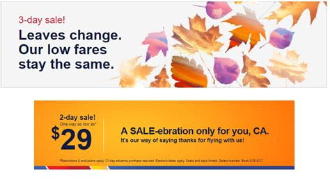 southwest sale southwest sale fares from 29 doctor of credit