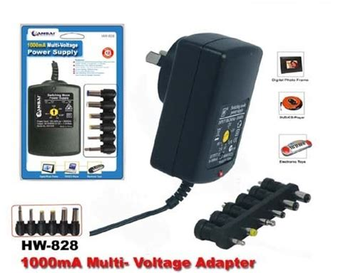 Adaptor Multi Volt charging batteries in my a 9v from a multi voltage wall adaptor