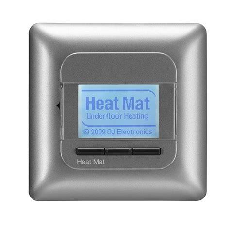 Heating Mat Thermostat by Heat Mat 16 3600w Programmable Underfloor Heating