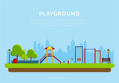 Playground Template Free Vector Download Free Vector Art Stock Graphics Images Playground Template