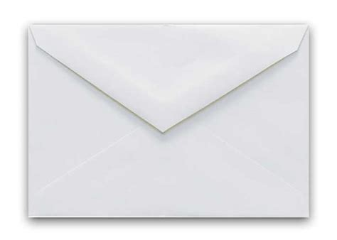 cougar opaque inner envelopes 5 25 x 7 5 white