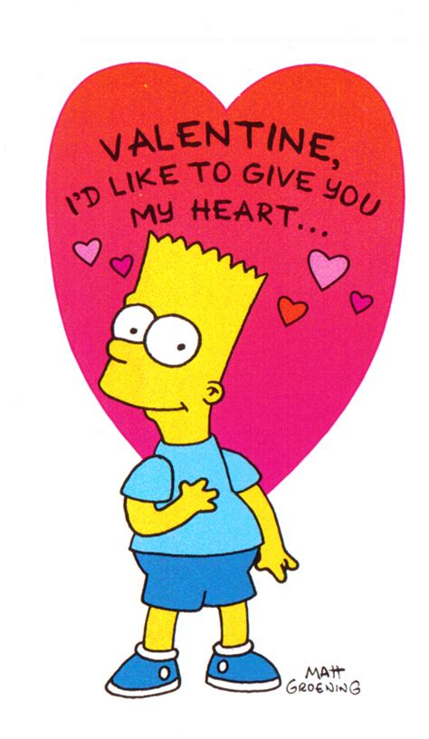 simpsons valentines cards lost found vintage toys 7 posts from february 3 2013