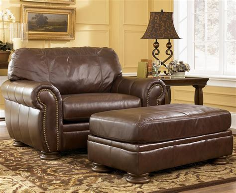 large leather chair and ottoman large leather chair with ottoman chairs seating