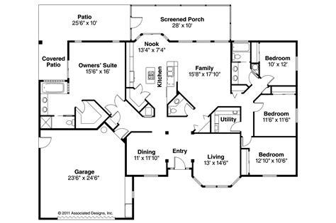stucco home floor plans
