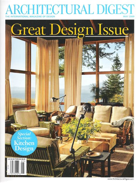 architectural digest articles and publications featuring work by charles