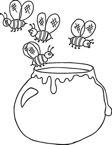coloring pages categories ukrainian honey coloring page free printable coloring pages