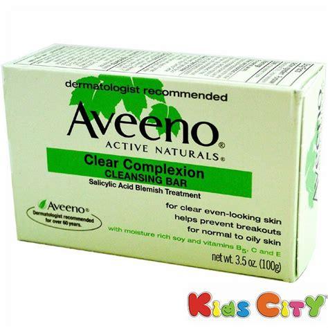 soap 100g 3 5oz aveeno active naturals clear complexion soap 100g 3 5oz