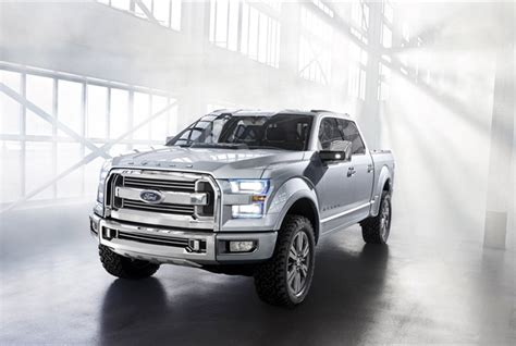 concept work truck ford s atlas concept pickup truck shows future direction