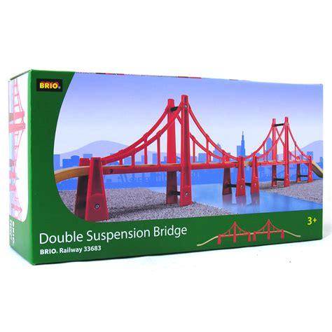 brio tunnels and bridges double suspension bridge from brio wwsm