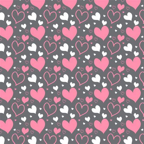 pattern heart vector heart pattern free vector in adobe illustrator ai ai