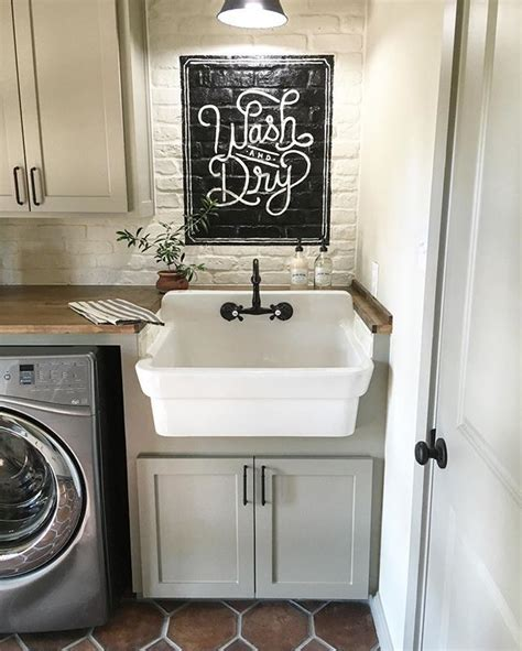 small farmhouse sink for laundry room best 25 laundry sinks ideas on small laundry