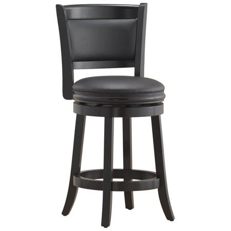 24 Inch Black Swivel Bar Stools by Boraam 45824 Augusta Counter Height Swivel Stool 24 Inch