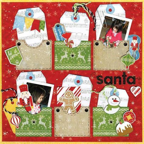 Frugal Scrapbooking 2 6 by Bobunny Dear Santa Scrapbook Paper Kit 12 Pcs Bo Bunny Lot