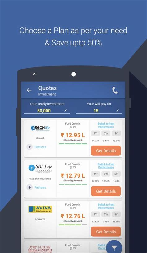 Policybazaar Car Insurance by Compare Buy Insurance Policybazaar Android Apps On