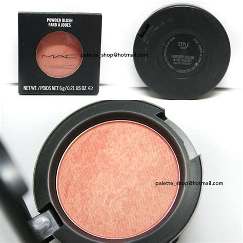 Mac 8 Color Eyeshadow 2 Color Blush 8213 mac style reviews photos makeupalley