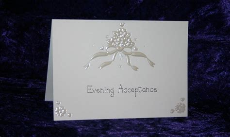 retro wedding acceptance cards luxury classic wedding evening invite acceptance choice of 9 cards reply d ex