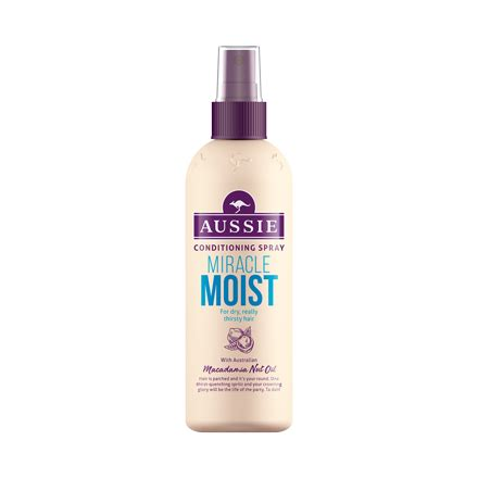 Review Aussie Moist Shoo by Miracle Moist Conditioner