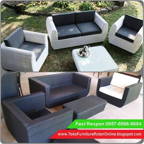 Hotel Furniture Rotan Sintetis sofa rotan ruang tamu jual kursi sofa rotan harga kursi