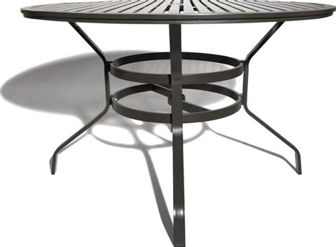48 inch round table strathwood grand isle 48 inch round dining table with